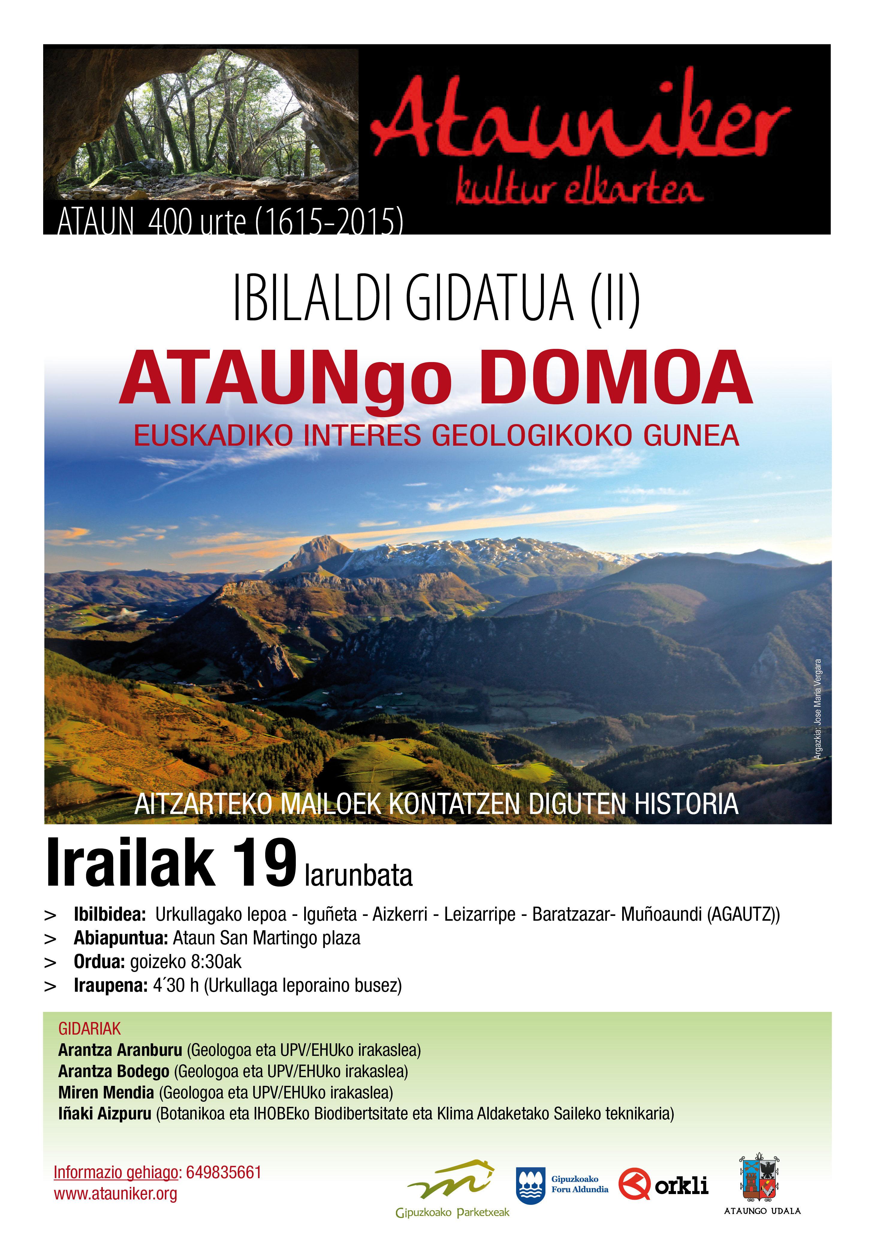 Atauniker DOMOA kartela 2015 BAI